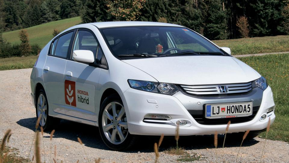 Honda opušča preprosti hibrid insight
