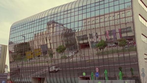 Hondin interaktivni oglas pelje tudi skozi Ljubljano