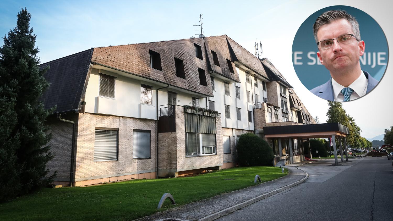 Premieru Šarcu padel velik razpis za obnovo hotela Brdo