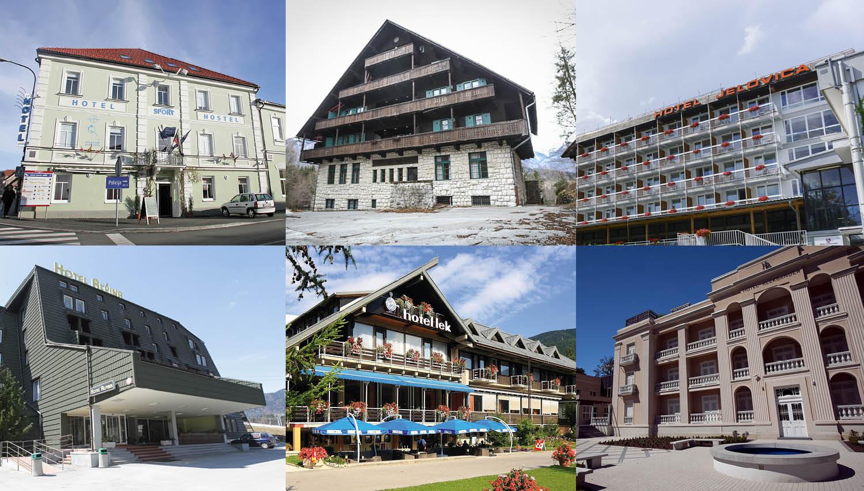 To so slovenski hoteli, ki so v zadnjem letu dni dobili nove lastnike