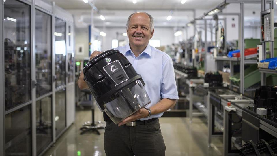 Ljubljanski proizvajalec sesalnikov, ki je v svoji niši v svetu največji, je med korono tržni delež še povečal