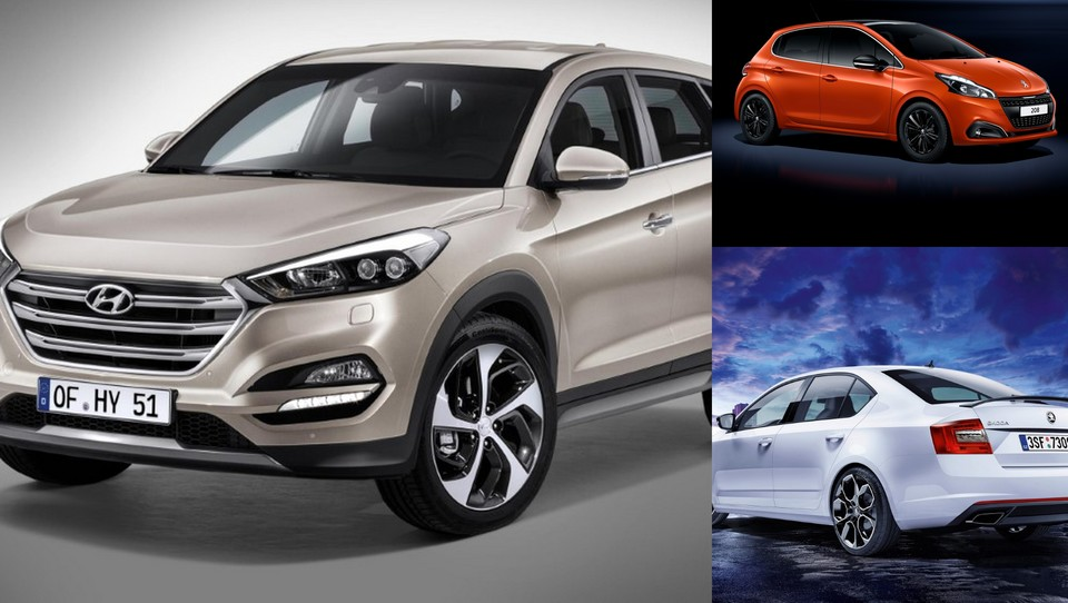 Hyundai spet s tucsonom, Peugeot 208 osvežen, octavia RS še močnejša