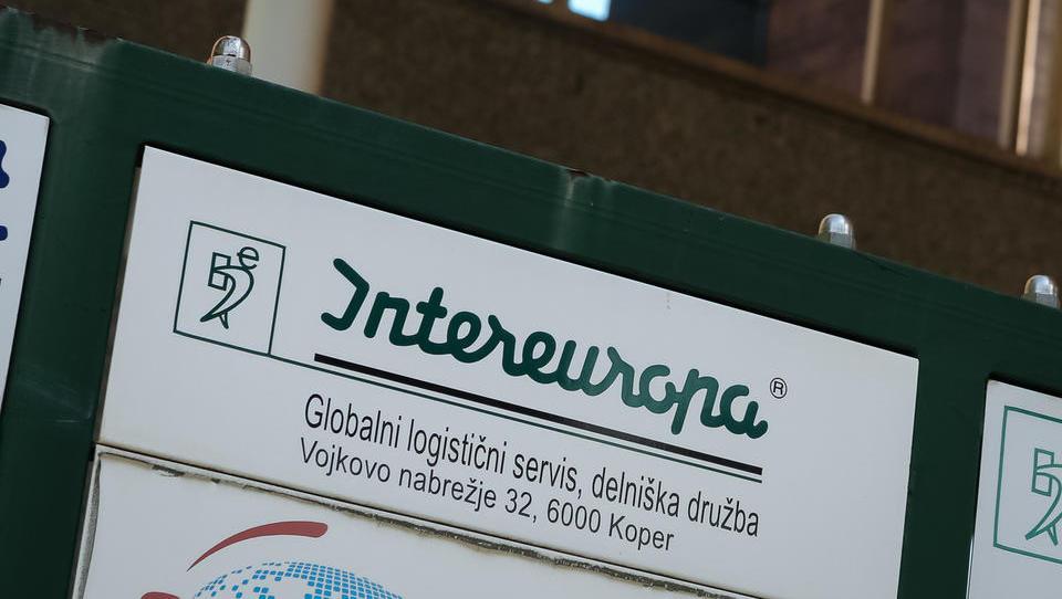 Intereuropa v prvem polletju pod načrti