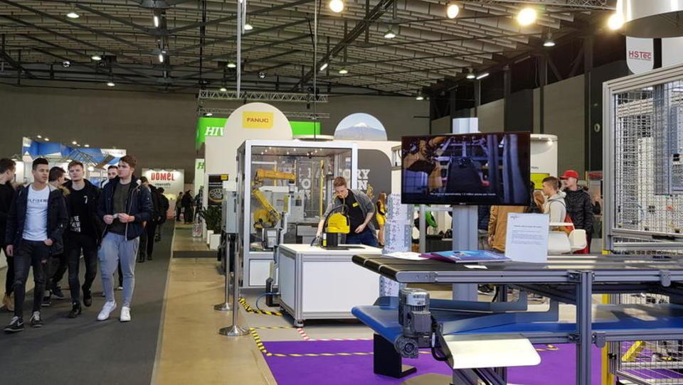 Vrsta rešitev za napredno industrijo na Gospodarskem razstavišču v Ljubljani