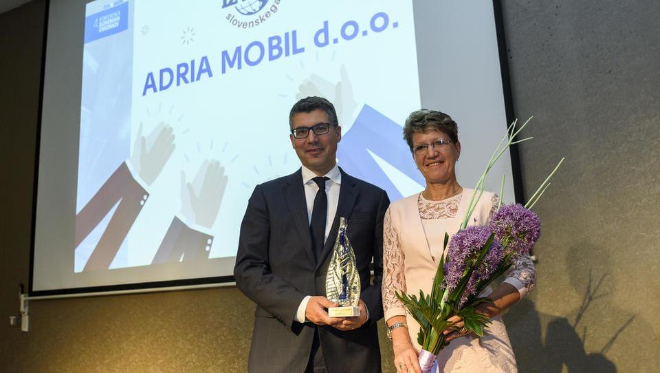 »Nagrada zmagovalec slovenskega izvoza nam pomaga pri pridobivanju novih kadrov«