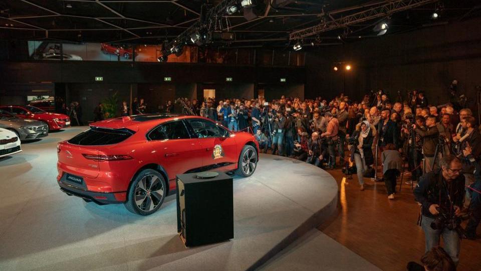 Jaguar I-PACE je evropski avto leta