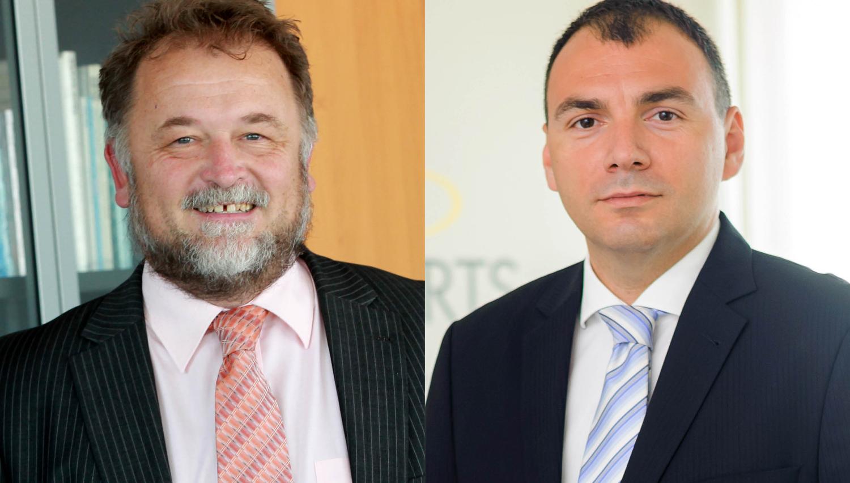 Kdo sta nova izvršna direktorja slabe banke, ki bosta odločala o privatizaciji družbe T-2?