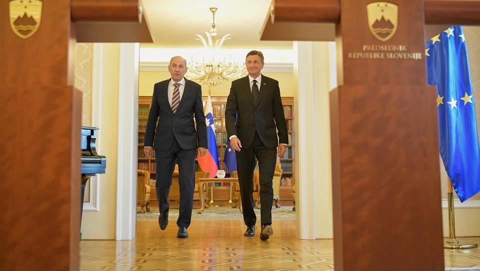 Janša Pahorju sporoča: Nimam večine v državnem zboru