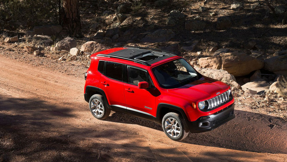 Mali Jeep renegade resen preizkus za Fiat