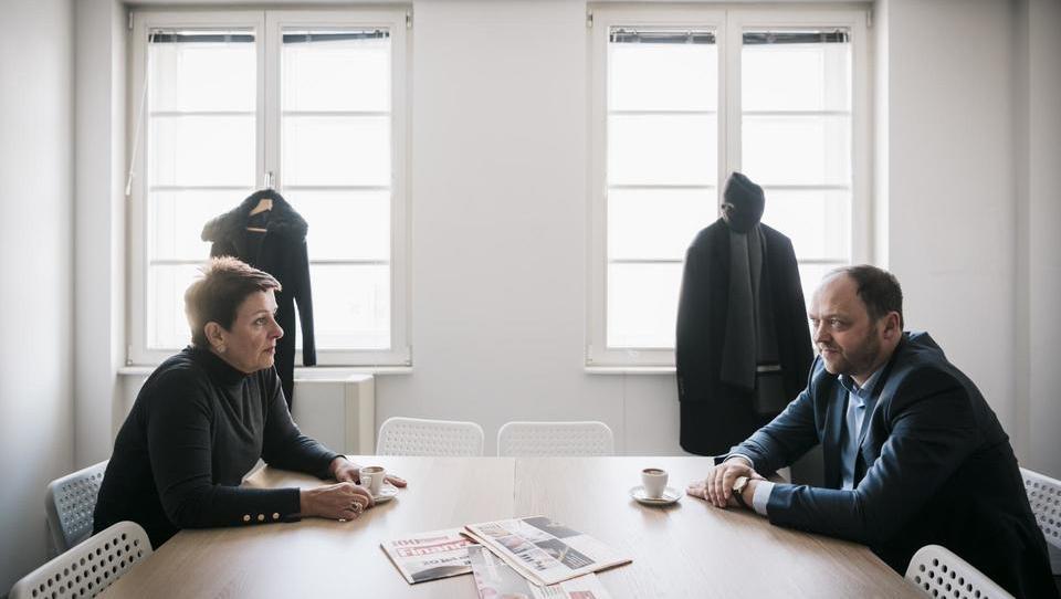 (intervju) Lidija Jerkič: Mi delodajalce potrebujemo. Boštjan Gorjup: Hvala.