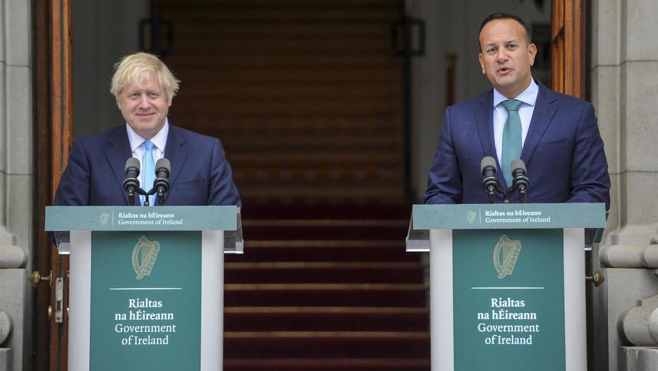 Varadkar: Režim irske varovalke ostaja bistven element izstopnega sporazuma med VB in EU, doslej ni bilo predlogov za sprejemljive alternative