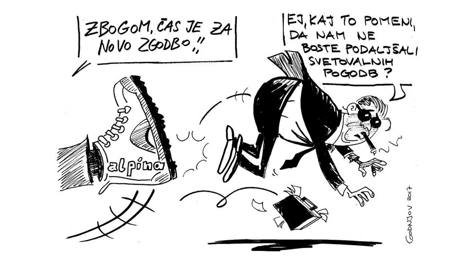 Karikatura denva