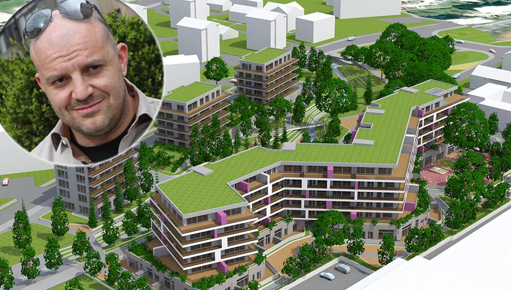 Heta prodaja nasedli stanovanjski projekt »kralja steroidov« Mihaela Karnerja na Viču