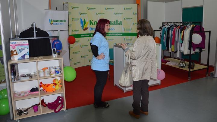 Komunala Brežice s projektom Prinesi - odnesi tudi v Gornji Radgoni