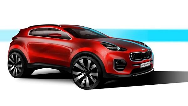 Kia sportage - takšna bo četrta generacija najuspešnejšega SUV v Sloveniji
