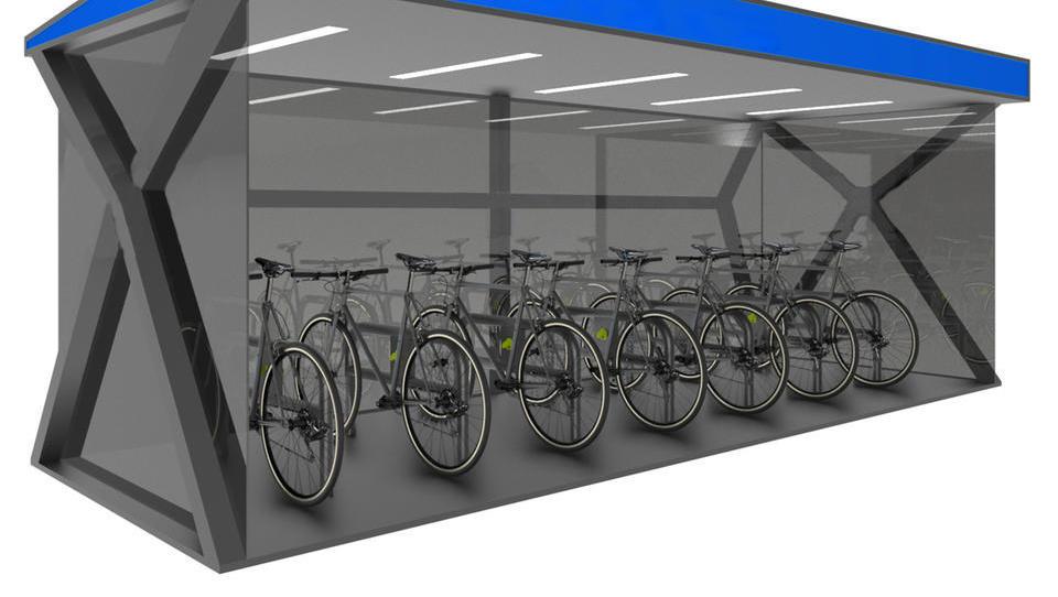 Kovinsko podjetje, ki se na krizo odziva z novimi izdelki za razkuževanje in varnimi kolesarnicami