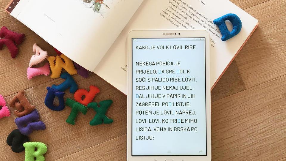 Najpodjetniška ideja: Aplikacija za pomoč otrokom z disleksijo