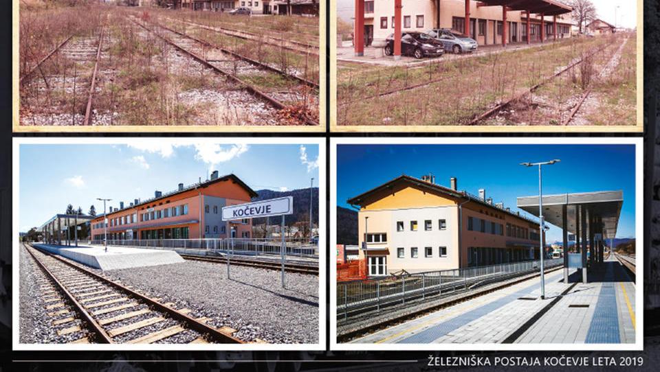 Razglednica iz Kočevja: zakaj progo obnavljamo 12 let, pred 126 leti pa so jo zgradili v letu in pol