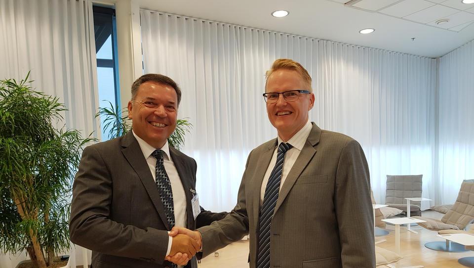 Kolektor Etra na Finskem, kjer gradijo novo jedrsko elektrarno, podpisala 20-milijonsko pogodbo