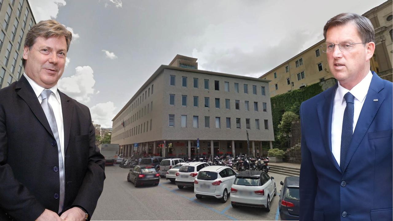 Za to pisarno v Trstu namerava država plačati 790 tisoč evrov