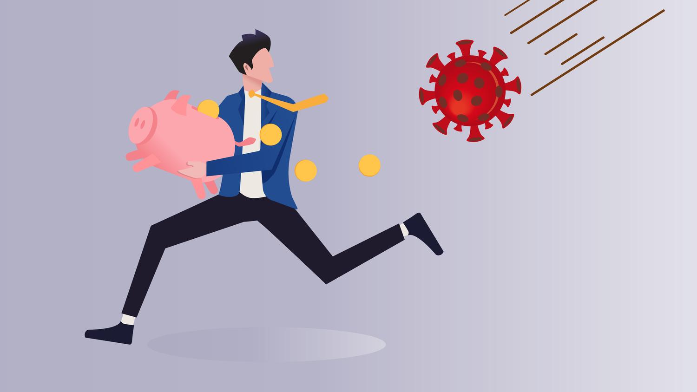Kako je epidemija koronavirusa vplivala na marčevske plače