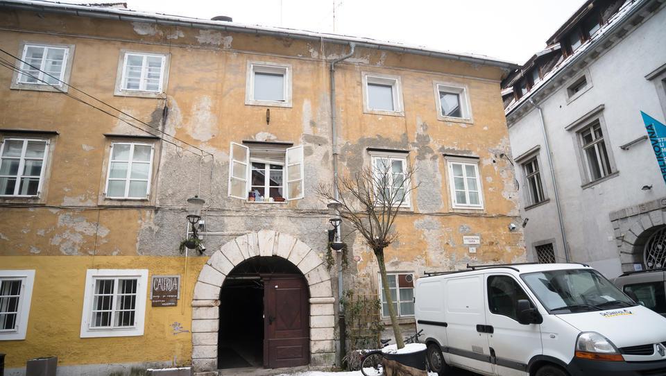 To je ''meščanska palača'' v centru Ljubljane, ki jo za 800 tisočakov prodaja Janković