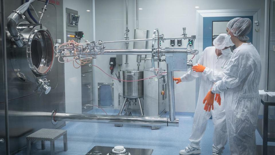 Krkina proizvodnja tablet in kapsul v Notolu 2 je v svetovnem vrhu