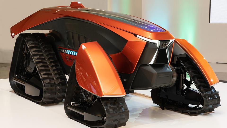 Kubota predstavlja avtonomni traktor za manjše kmetije