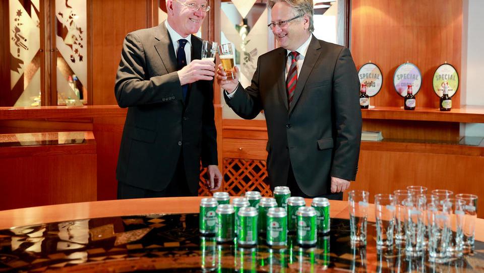 De Sloveense Heineken-bierbrouwerij Laško Union vergroot haar marktaandeel