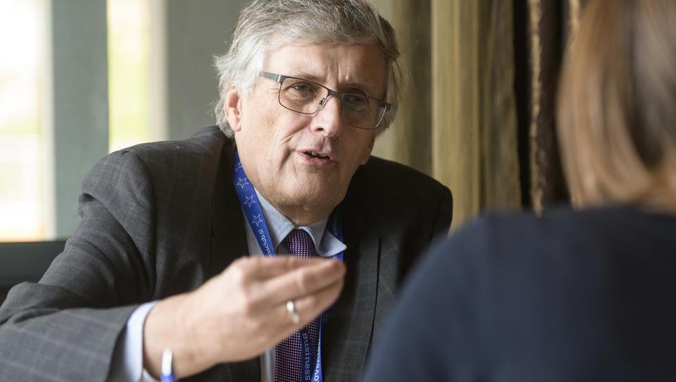 (intervju): Jochen Leonhardt, BVMW: Zavzemamo se za poenostavitev davčnih predpisov