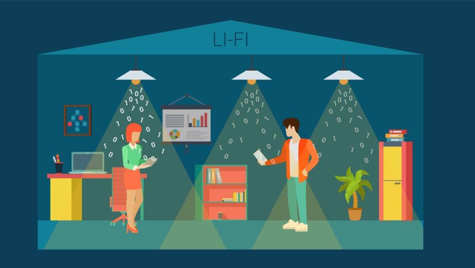Sijalke LED lahko podatke prenašajo stokrat hitreje od brezžičnega omrežja