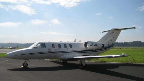 Naprodaj letalo, ki je prevažalo slovenske politike