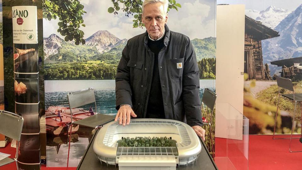 Tako Avstrijci vabijo turiste: sredi Celovca bo švicarski umetnik posadil 200 dreves