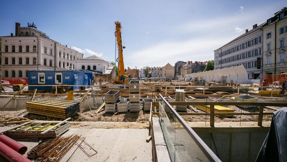 V prvi polovici leta občutna rast vrednosti opravljenih gradbenih del