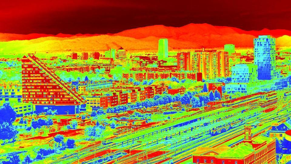 Kako bomo hladili tropsko Ljubljano – in kako to delajo v drugih mestih