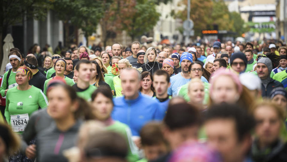 Ljubljanski maraton v številkah