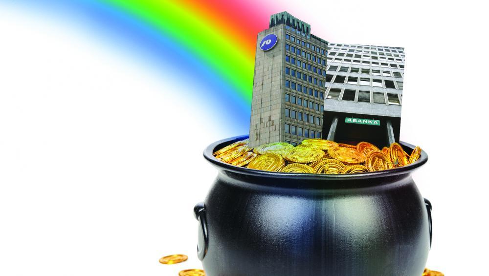 Banka Slovenije pred prodajo NLB in Abanke opozarja: Dobički bank bodo vse manjši!