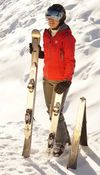 Najpodjetniška ideja: Pametna smučka, ki se zna prilagoditi smučarju in snegu