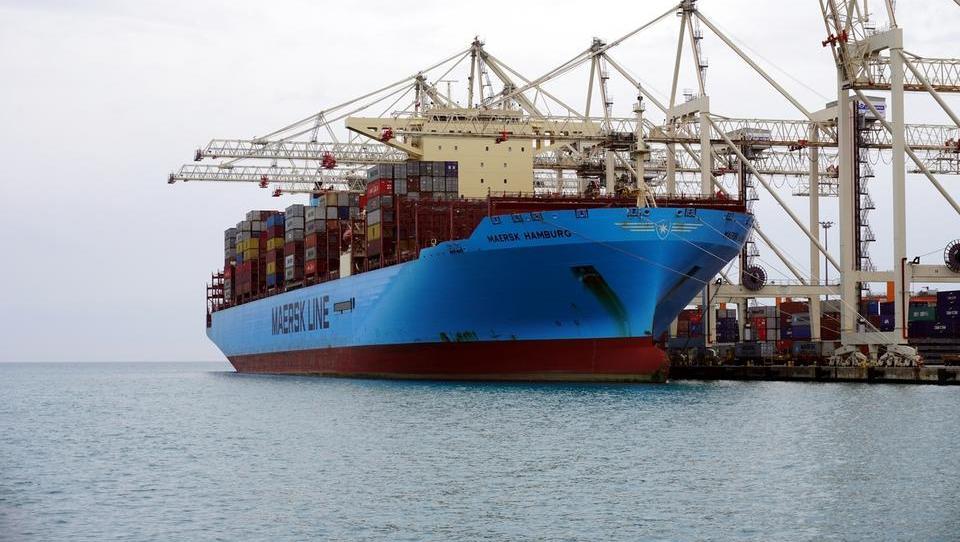V Luki Koper raztovarjajo prvo ladjo, ki je odplula iz Kitajske po izbruhu koronavirusa. Kakšne so napovedi?