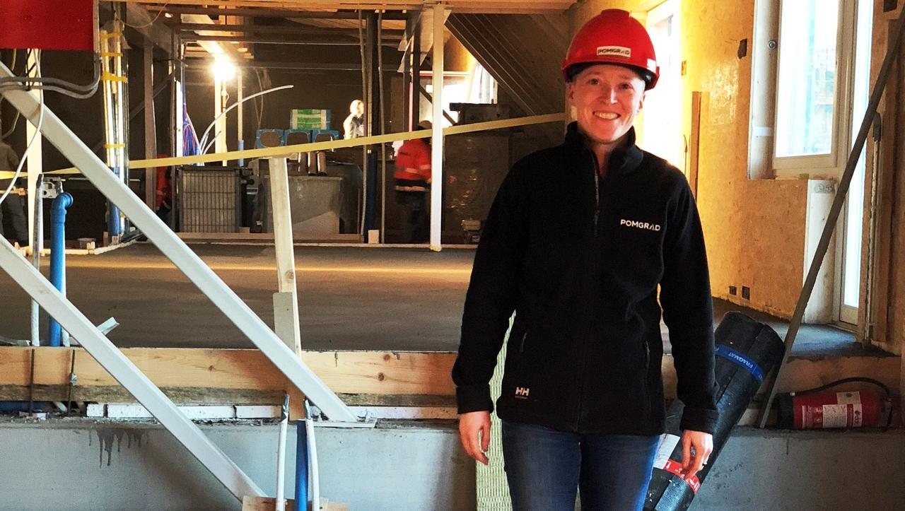Predstavljamo slovensko inženirko, ki na Švedskem vodi gradbišče 94 stanovanj