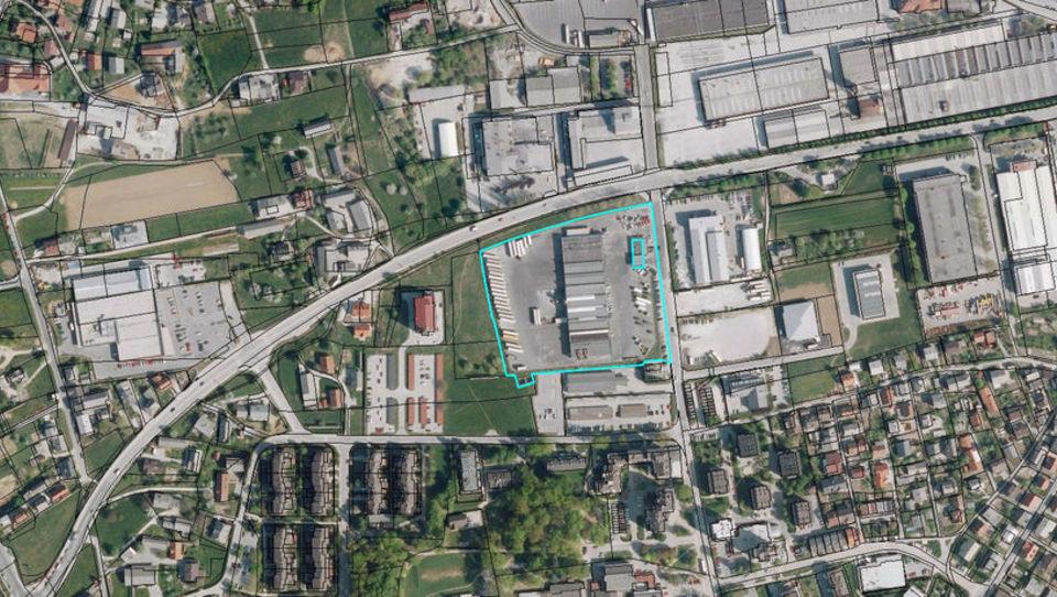 Zemljišče V&V logistike za 3,4 milijona evrov kupila Avto Krka