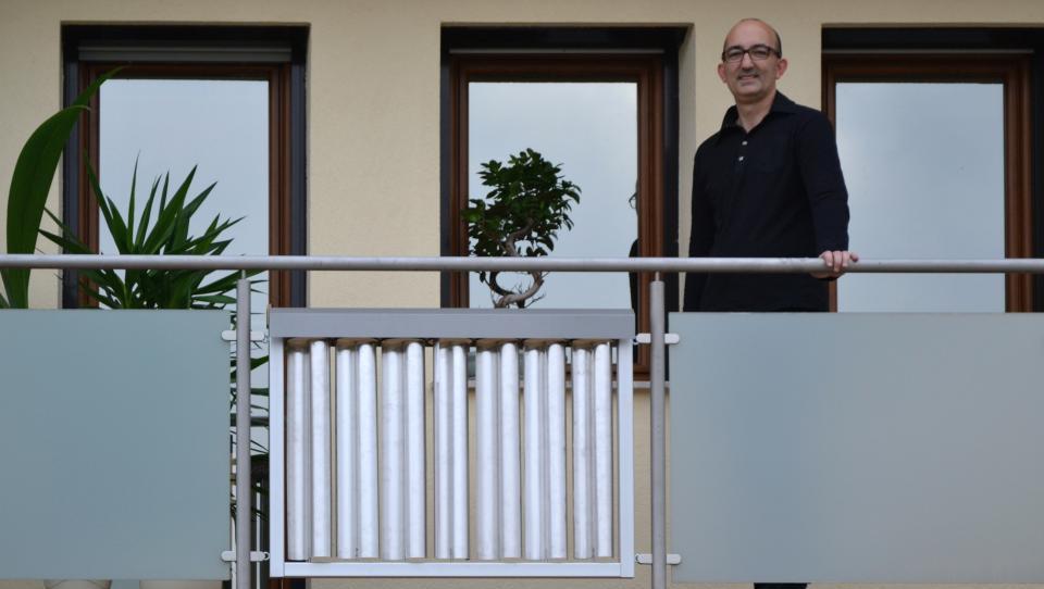 Slovenska inovacija: Vetrno elektrarno imate lahko kar na balkonu
