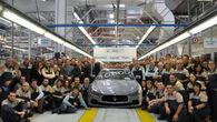 Tovarna, ki lahko izdela 140 Maseratijev na dan