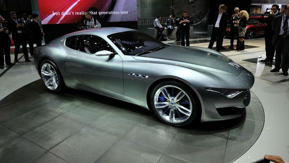 Maseratijev poklon ustanovitelju znamke