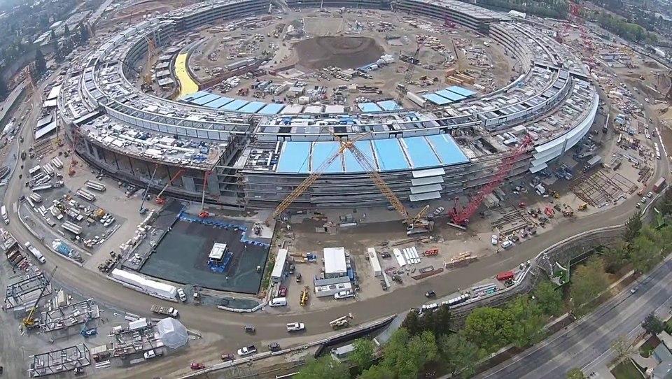 (video) Tako se gradi nov Applov sedež, vreden pet milijard dolarjev