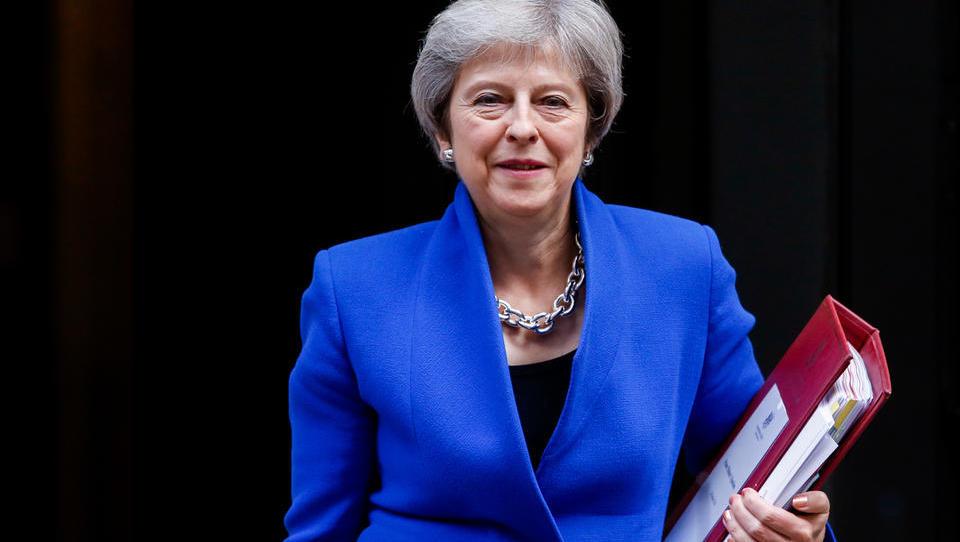 Premierka Mayeva: V parlamentu ni zadostne podpore za dogovor o brexitu