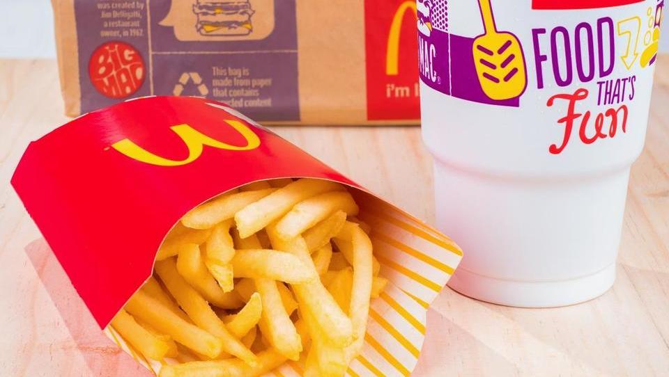 McDonald's bo hamburgerje prinesel na dom