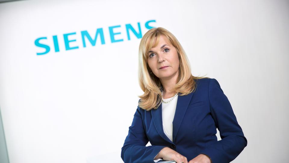 Medeja Lončar prevzema tudi vodenje Siemensa na Hrvaškem