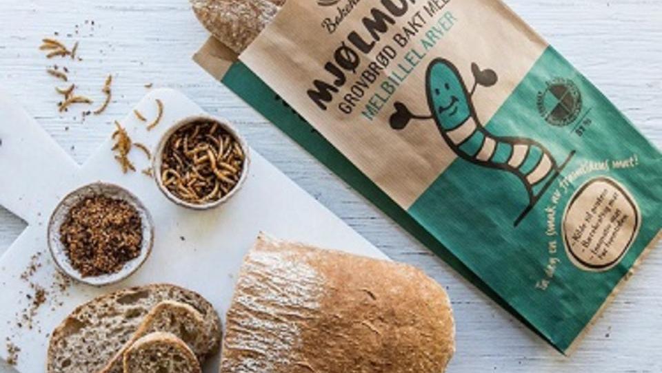 Norveška inovacija: kruh z zmletimi črvi