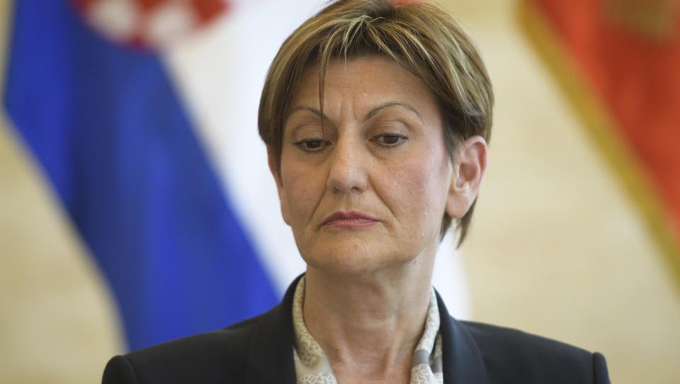 Pretres v hrvaški vladi: Agrokor odnesel še Martino Dalić, podpredsednico vlade